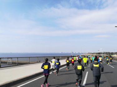 第44回「千葉マリンマラソン」のハーフマラソンにエントリーしました