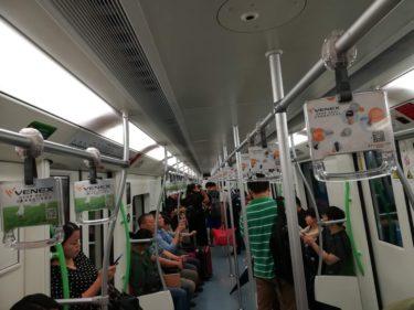 【中国②】上海の地下鉄の乗り方・感想《201909バスケW杯@上海の旅》
