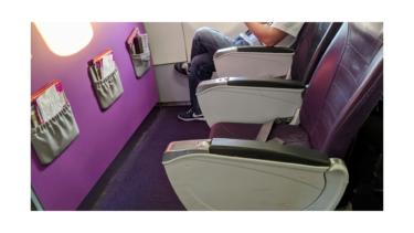 ピーチ航空の1列目「ファストシート」が快適すぎたのでオススメ《202001石垣島④》