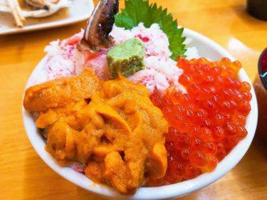 小樽駅すぐ近く「北のどんぶり屋 滝波食堂」の海鮮丼を食べる